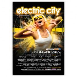 electric city 2015 | Poster | A1