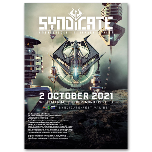 SYNDICATE 2021 | Ticket