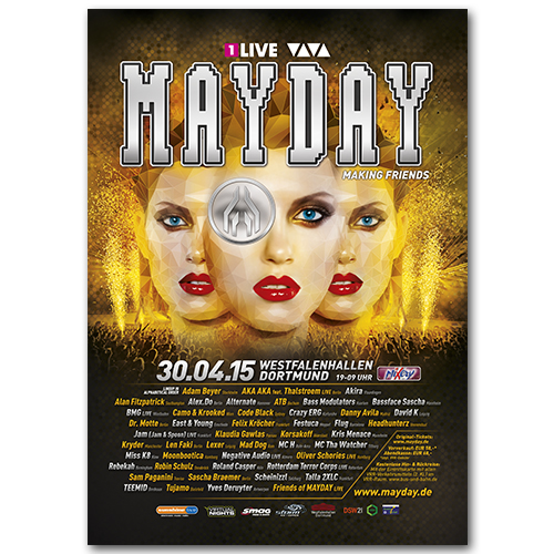 MAYDAY 2015 | Poster | A0