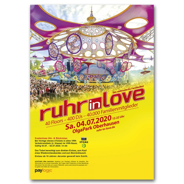 Ruhr-in-Love 2020 | Ticket | Print@Home