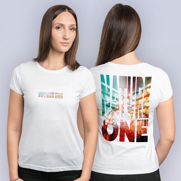 NATURE ONE 2021 | Shirt | Girl | weiß