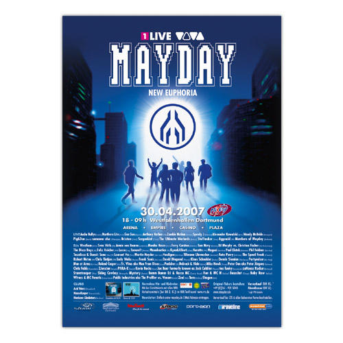 MAYDAY 2007   Poster
