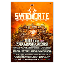SYNDICATE 2013 | Poster | A0