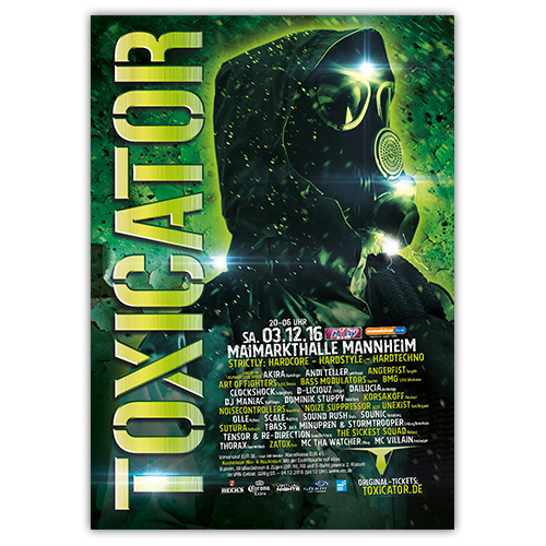 TOXICATOR 2016 | Poster | A0